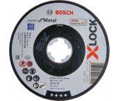 Bosch 2608619254 X-Lock Slijpschijf Expert for Metal - Recht - 1,6 x 125mm
