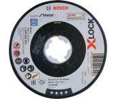 Bosch 2608619252 X-Lock Slijpschijf Expert for Metal - Recht - 1,6 x 115mm