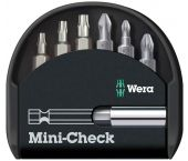 Wera 5135810001 Mini-check 7-delige bitset in cassette
