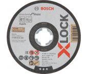Bosch 2608619262 X-Lock Slijpschijf Standard for Inox - Recht - 125mm