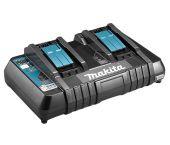 Makita DC18RD 14.4 - 18V Li-Ion Accu duolader met USB laadpoort - 196933-6