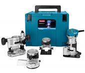 Makita RT0700CX3J bovenfrees / kantenfrees / trimmer in Mbox - 710W
