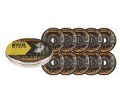 Rhodius ALPHALine I XT70 Doorslijpschijvenset in Alpha-box - 125 x 22,23 x 1mm - RVS/Staal (10st) - 208226