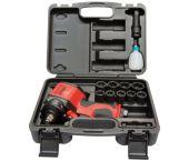"Rodac RC2751BC Pneumatische Slagmoersleutelset Stubby - 610Nm - 120 l/min - 1/2"" - + gratis koffer en 9 krachtdoppen compact"