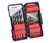 Bosch 2608577350 18-delige PointTeq HSS Metaalborenset - 1 t/m 10mm