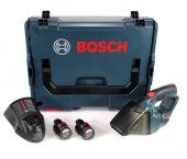 Bosch GAS 12V Li-Ion accu stofzuiger set (2x 2.5Ah accu) in L-Boxx - 06019E3002