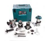 Makita DRT50ZJX3 18V Li-Ion accu bovenfrees / kantenfrees / trimmer body in Mbox
