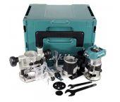 Makita DRT50ZJX2 18V Li-Ion accu bovenfrees / kantenfrees / trimmer body in Mbox