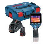 Bosch GTC 400 C 12V Li-Ion accu Visuele infraroodthermometer (1x 1.5Ah accu) in L-Boxx - 0601083101