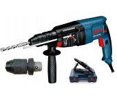 Bosch GBH 2-26 DFR SDS-plus Combihamer incl. snelspanboorkop in koffer - 800W - 2,7J - 0611254768