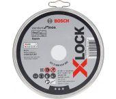 Bosch 2608619267 X-Lock Slijpschijf Standard for Inox in blik - Recht - 125mm (10st)