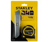 Stanley STHT4-10099 Multipack inclusief rolmaat, schuifmes en reservemessen