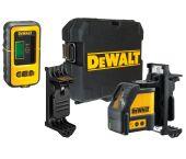 DeWalt DW088KD zelfnivellerende kruis lijnlaser in koffer (DW088K) & ontvanger (DE0892) - 2 lijnen - 50m - DW088KD-XJ