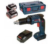 Bosch GSR 18 V-EC TE Visseuse plaquiste / automatique à batteries 18V Li-Ion set (2x batterie 5.0Ah) dans L-Boxx - moteur sans charbon - 06019C8006