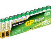 GP Alcaline Super - Piles - AAA - 1,5V (12pcs) - 03024AS12