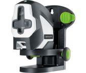 Laserliner SuperCross-Laser 2GP - Laser croix autonivelant dans sac - 2 lignes - vert - 40m - Bluetooth - 081.191A