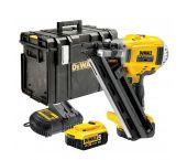 DeWalt DCN692P2K Cloueur à batteries 18V Li-Ion set (2x batterie 5.0Ah) dans coffret - moteur sans charbon - 50-90mm - DCN692P2K-QW