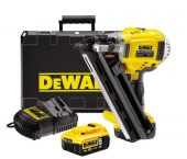 DeWalt DCN692P2 Cloueur de charpente à batterie (2x batterie 5.0Ah) - moteur sans charbon - 50-90mm - DCN692P2-QW