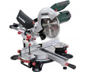 Metabo KGS 254 M - Scie à onglet radiale avec laser - 1800W - 254mm - 602540000
