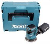Makita DBO180ZJ Ponceuse excentrique à batteries 18V Li-Ion (machine seule) dans MAKPAC - 125mm