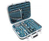 Makita P-90532 Jeu d'accessoires de 227 pièces dans un étui