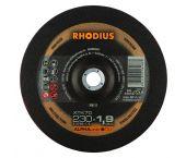 Rhodius ALPHAline I XTK70 - Disque à tronçonner - Extra fin - 230 x 22,23 x 1,9mm - inox/acier