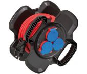 Brennenstuhl X-Gum Enrouleur du cable- Bremaxx - AT-N05V3V3-F 3G1,5 - IP44 - 10m - 1169717100