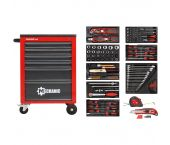 Gedore RED R21560001 119 Pièces Chariot à outils - 3301667