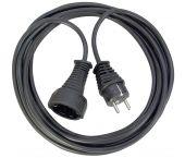 Brennenstuhl 1165440 Rallonge de qualité en plastique noir - H05VV-F 3G1.5 - 5m