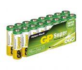 GP Alcaline Super Batterijen - AA - 1,5V (16pcs) - 03015AS16