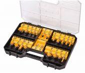 DeWalt DT90017 Set de fraisage en 22 parties - DT90017-QZ