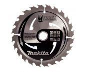 Makita A-89632 Lame carbure bois - 24D - 165mm