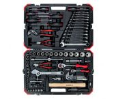 """Gedore RED R46003100 - Set d'outils / douilles (100pcs) - 1/4"""" + 1/2"""" - 3300063"""