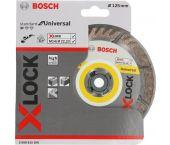 Bosch 2608615166 - X-LOCK Disque diamant Standard for Universal 125 x 22,23 x 2,0 x 10 mm