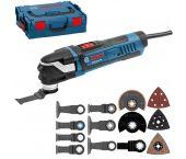 Bosch GOP 40-30 Outil multifonctions + set d'accessoires 16 pièces dans L-BOXX - 400W - variable - 0601231001