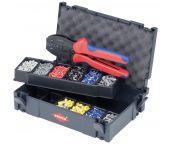 Knipex 97 90 23 - Assortiment de sertissages pour embouts de câble